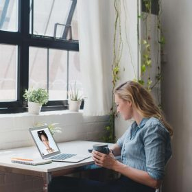 ¿Está trabajando desde casa?