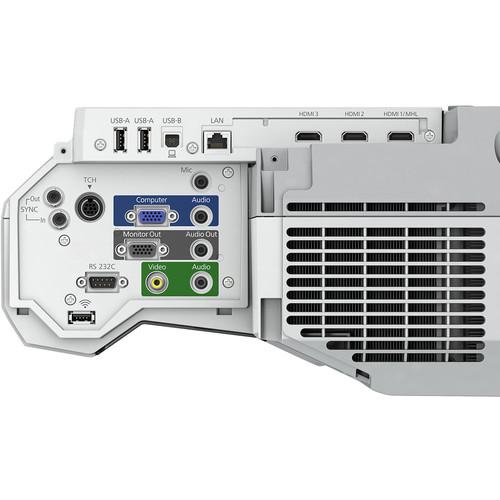 Epson-BrightLink-710UI-connector